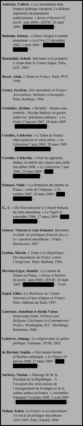 L alt rit et la r alit d islam en france for Miroir 2000 croix